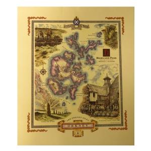 Highland Park Scotland's Malt Whisky Regions / Orkney Print