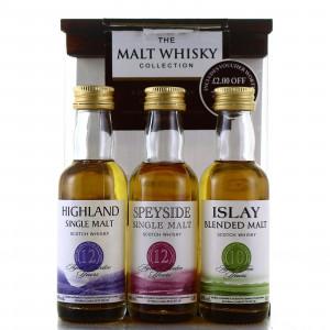 The Malt Whisky Collection Miniature x 3 / Sainsbury's