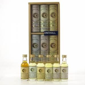 Signatory Vintage DM Hall Miniature Gift Pack 6 x 5cl / Including Rosebank 1989