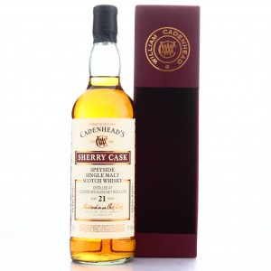 Glenrothes 1997 Cadenhead's 21 Year Old Sherry Cask