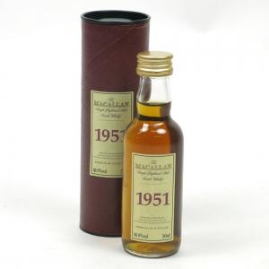 Macallan 1951 Select Reserve Miniature 5cl