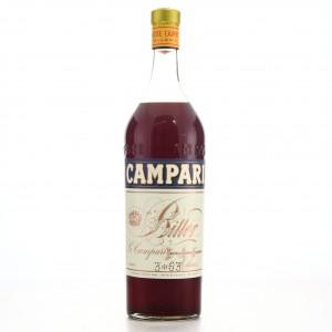 Campari Bitter 1 Litre 1950s