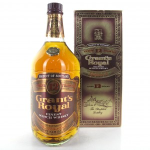 Grant's Royal 12 Year Old 1980s
