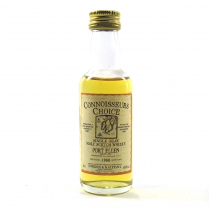 Port Ellen 1980 Gordon and MacPhail Miniature 5cl