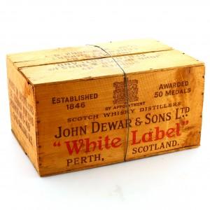 *Dewar's x 12 / Wooden Crate