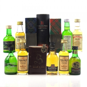 Miscellaneous Island Lowland and Campbeltown Miniature selection 10 x 5cl