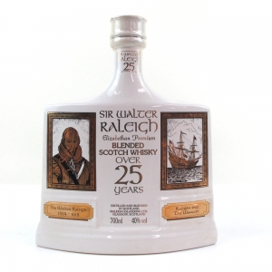 Sir Walter Raleigh 25 Year Old Decanter