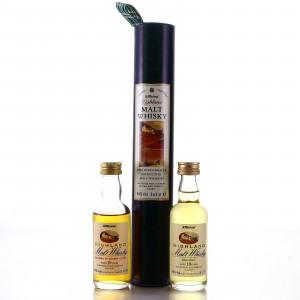 St Michael Malt Whisky Miniature x 2 / Marks & Spencer