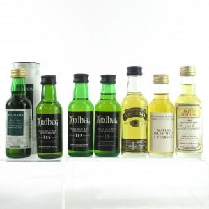 Islay Miniature Selection x 7