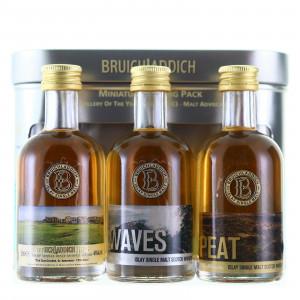 Bruichladdich Miniature Tasting Pack