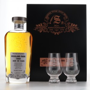 Highland Park 1988 Signatory Vintage 30 Year Old / 30th Anniversary