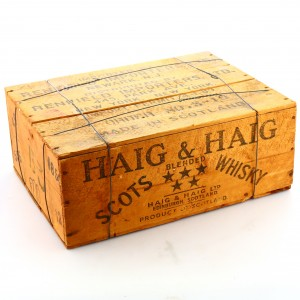 Haig x 12 / Wooden Crate