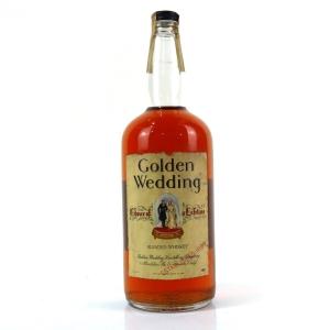 Golden Wedding Blended American Whiskey 1960s