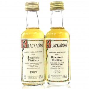 Bowmore & Strathisla 1989 Blackadder Miniature 2 x 5cl