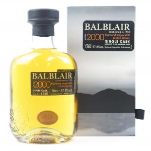 Balblair 2000 Single Cask #1350 / The Gathering Place