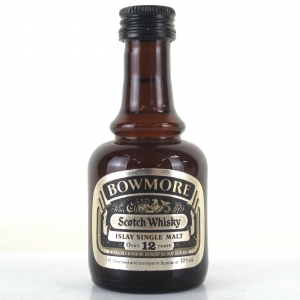 Bowmore 12 Year Old 1980s Miniature 5cl