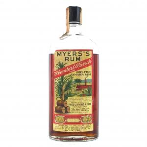 Myers's Rum 1950s / US Import