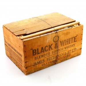 *Black and White x 12 / Wooden Crate