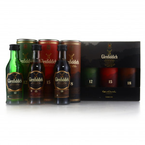 Glenfiddich Miniature Gift Pack Selection 6 x 5cl