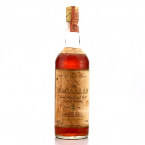 Macallan 8 Year Old 1980 / Rinaldi Import