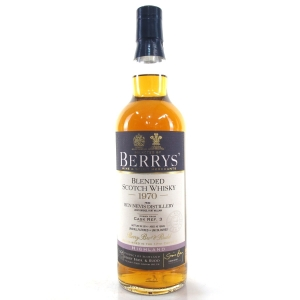 Ben Nevis 1970 Berry Brothers and Rudd 43 Year Old