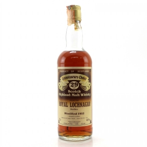 Royal Lochnagar 1952 Gordon and MacPhail 29 Year Old / Pinerolo Import