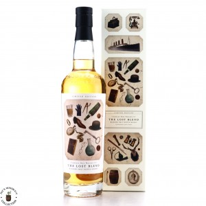 Compass Box The Lost Blend / Label 2