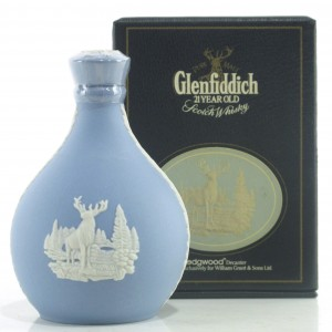 Glenfiddich 21 Year Old Wedgwood Decanter Miniature 5cl