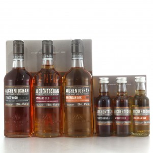 Auchentoshan Ultimate Collection 3 x 20cl & 3 x 5cl