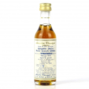 Strathisla 1970 Alambic Classique 42 Year Old Miniature 5cl