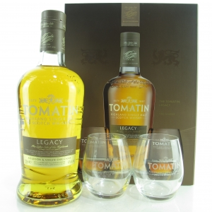 Tomatin Legacy Gift Set / Including Two Tumblers