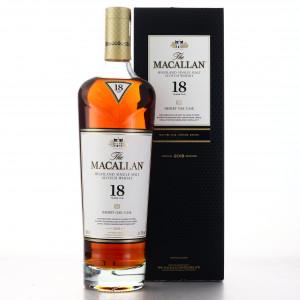 Macallan 18 Year Old Sherry Oak 2018 Release