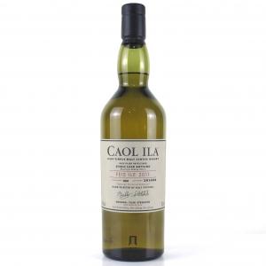 Caol Ila 2000 Single Cask Feis Ile 2011 / Bottle #4