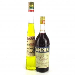 Italian Liqueur x 2 1970s