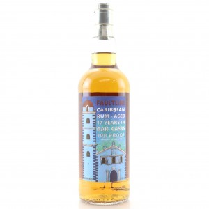 Faultline 17 Year Old Caribbean 100 Proof 75cl / K&L Wines