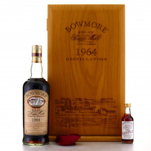 Bowmore 1964 Single Cask 35 Year Old / Oddbins - One of 99 bottles