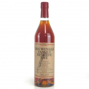 Van Winkle 13 Year Old Family Reserve Rye / 2015 Release - Signed