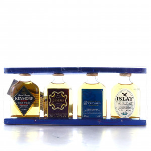 Whisky Selection Miniature x 4 / Marks & Spencer