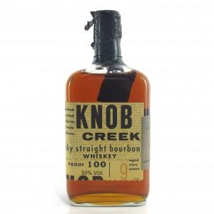 Knob Creek 9 Year Old Kentucky Straight Bourbon