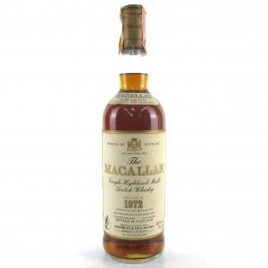 Macallan 18 Year Old 1972 / Giovinetti Import