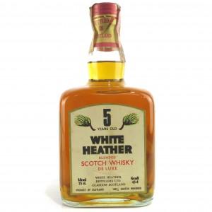 White Heather 5 Year Old 1970s / Rinaldi Import