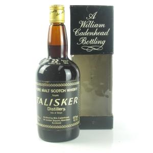 Talisker 1957 Cadenhead's 22 Year Old