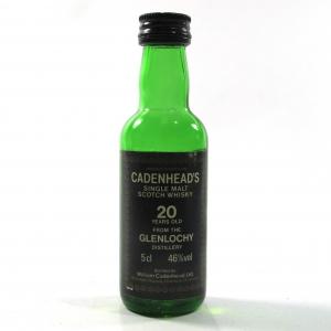 Glenlochy 20 Year Old Cadenhead's Miniature 5cl1980s