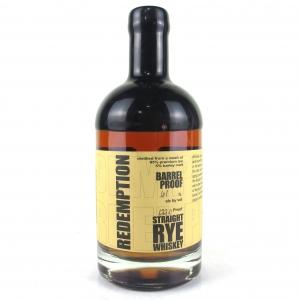 Redemption 6 Year Old Straight Rye Batch #3