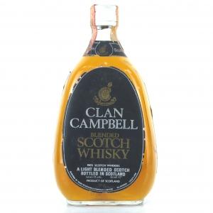 Clan Campbell Scotch Whisky 1960s / Rinaldi Import