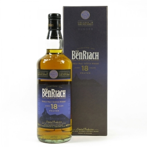 Benriach Dunder 18 Year Old Peated / Dark Rum Finish Front