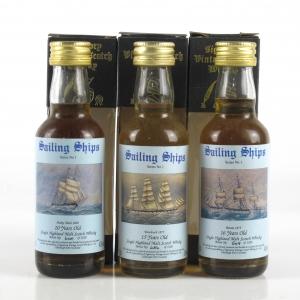 Signatory Vintage Saling Ships Series No.1 3 x 5cl