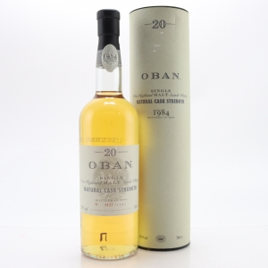 Oban 1984 Cask Strength 20 Year Old