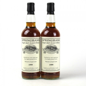 Springbank 1999 Small Casks Private Bottling 2 x 70cl