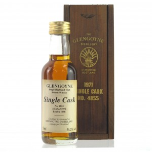 Glengoyne 1971 Single Cask #4855 Miniature 5cl